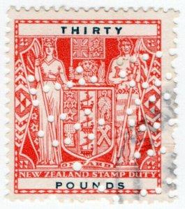 (I.B) New Zealand Revenue : Stamp Duty £30