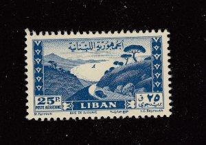 LEBANON # C147a VF-MH CAT VALUE $65
