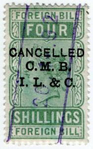 (I.B) QV Revenue : Foreign Bill 4/- (CMBIL&Co pre-cancel)