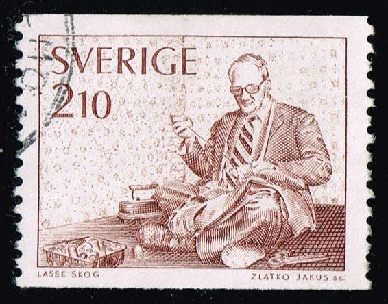 Sweden #1195 Tailor; Used (0.25)