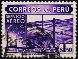 Peru. .1938 1s50 S.G.738 Fine Used