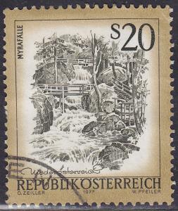 Austria 975 USED 1977 Myra Waterfalls