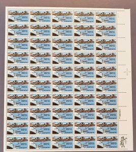 C115, Air Mail, Transpacific, Mint Sheet, OGNH, CV $63
