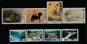 Taiwan x 2 MNH sets from 1960 & 64