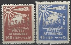 Afghanistan  B11-2  MNH  Admission to United Nations