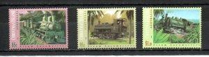 Christmas Island 360-362 MNH