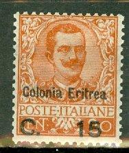 AL: Eritrea 34 mint CV $80
