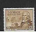 NORWAY, 281, MINT HINGED, PETER WESSEL