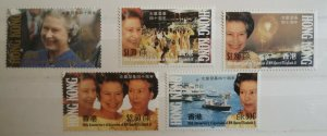 Hong Kong 1992 40th Anniversary Queen Elizabeth II's Accession MNH
