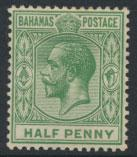 Bahamas  SG 81 Green  SC# 49 MH see details