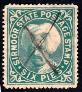 India Sirmoor Scott 5 Used.