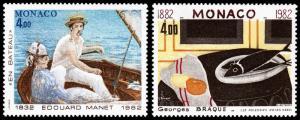 Monaco Scott 1349-1350 (1982) Mint NH VF B