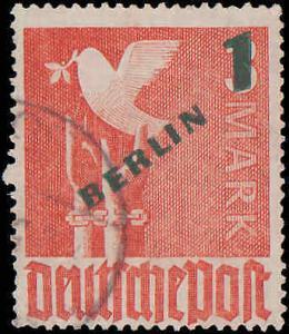 1949 Germany Berlin #9N64-9N67, Complete Set(4), Used