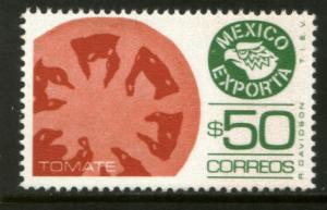 MEXICO Exporta 1493, $50P Tomatoes Fosfo Paper 10 MINT, NH. VF.