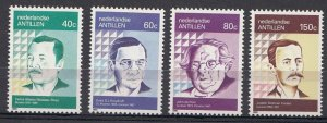 1990 Netherlands Antilles 690-693 Personalities 5,00 €