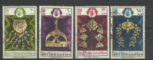 BAHRAIN 1975,WOMEN'S JEWELLERY SET VFU.