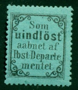 NORWAY #RM2 Return-to-Sender stamp, og, LH, VF for this issue, Facit $110.00