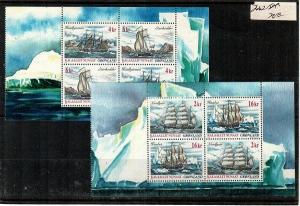 Greenland Scott 399a-400a Mint NH booklet (Catalog Value $22.00)