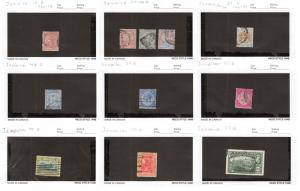 Lot of 36 Jamaica Used Stamps Scott Range 13-170 #142844 R