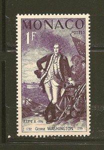 Monaco 354 George Washington MNH