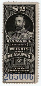 (I.B) Canada Revenue : Weights & Measures $2