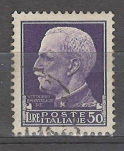 COLLECTION LOT # 4962 ITALY #231 WMK 140 1929 CV+$40