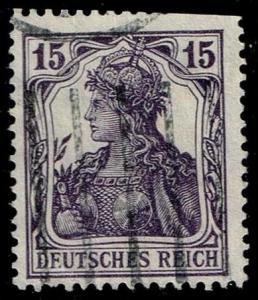 Germany #100 Germania; Used (1.90)