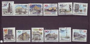 J17504 JLstamps 1965-6 germany berlin occup,t set used #9n223-34 berlin