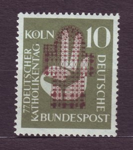 J23231 JL stamps 1956 germany mlh #750 design