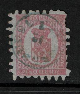 Finland SC# 10, Used, some pulled perfs -  Lot 081317