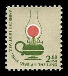 US #1611 $2 Kerosene Lamp, MNH, (PCB-6)