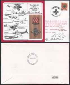DM1 The Award of the Air Force Cross Signed by Designer Tony Theobald