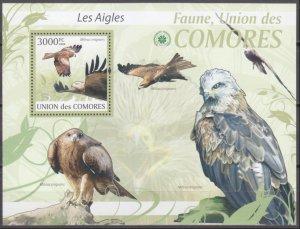 2009 Comoro Islands 2423/B520 Birds / Falcon 15,00 €