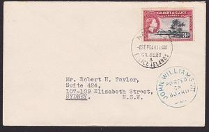 GILBERT & ELLICE IS 1964 cover POSTED ON BOARD JOHN WILLIAMS................6216