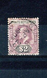 Malaysia - Straits Settlements 1902 $2 FU CDS