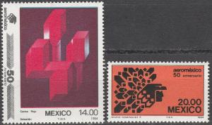 Mexico #1362-3 MNH F-VF (SU7073)