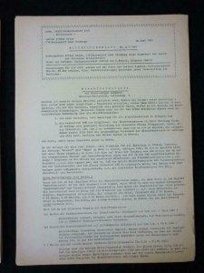 BAUTENSERIE 1948 HANDBUCH + MITTEILUNGSBLATT 3 4 6 (1961) & 1 2 3 (1962)