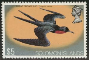 British Solomon Islands Scott 247 MNH** 1972 Frigate Bird