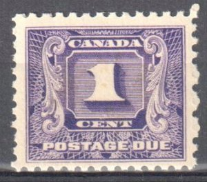 Canada #J6 Mint XF NH Postage Due -- Perfect Centering and gum