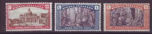 J17215 JLstamps 1924 italy hv,s of set mh/mhr #b23-5 designs