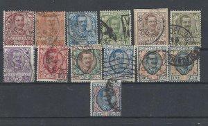 Italy 1901-1922 King Viktor Emanuel III - used stamps