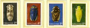 Faroe Islands 276-9 MNH SCV $9.00