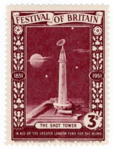 (I.B) Cinderella Collection : Festival of Britain - Shot Tower 3d