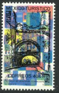 MEXICO 1969-73 40c GUANAJUATO Tourism Issue Sc 1012 MNH