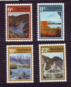 New Zealand Sc 507-0 1972 Lakes  stamps mint NH