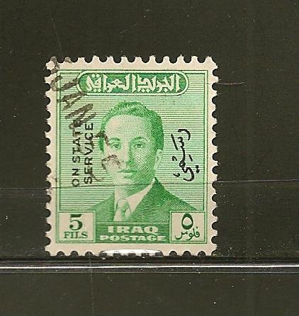 Iraq O152 Official Used
