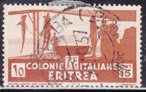 Eritrea 161 USED 1934 Shark Fishery