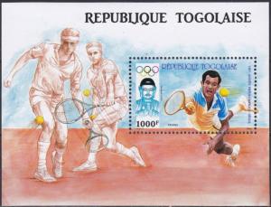 Togo #1443 YTBF263 MNH S/S CV$11 1988 Seoul Summer Games/Table Tennis