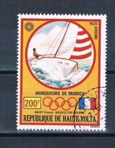 Burkina Faso C119 Used Olympic Sailing 1972 (MV0377)+