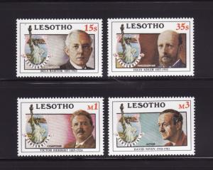 Lesotho 535-538 Set MNH Statue of Liberty
